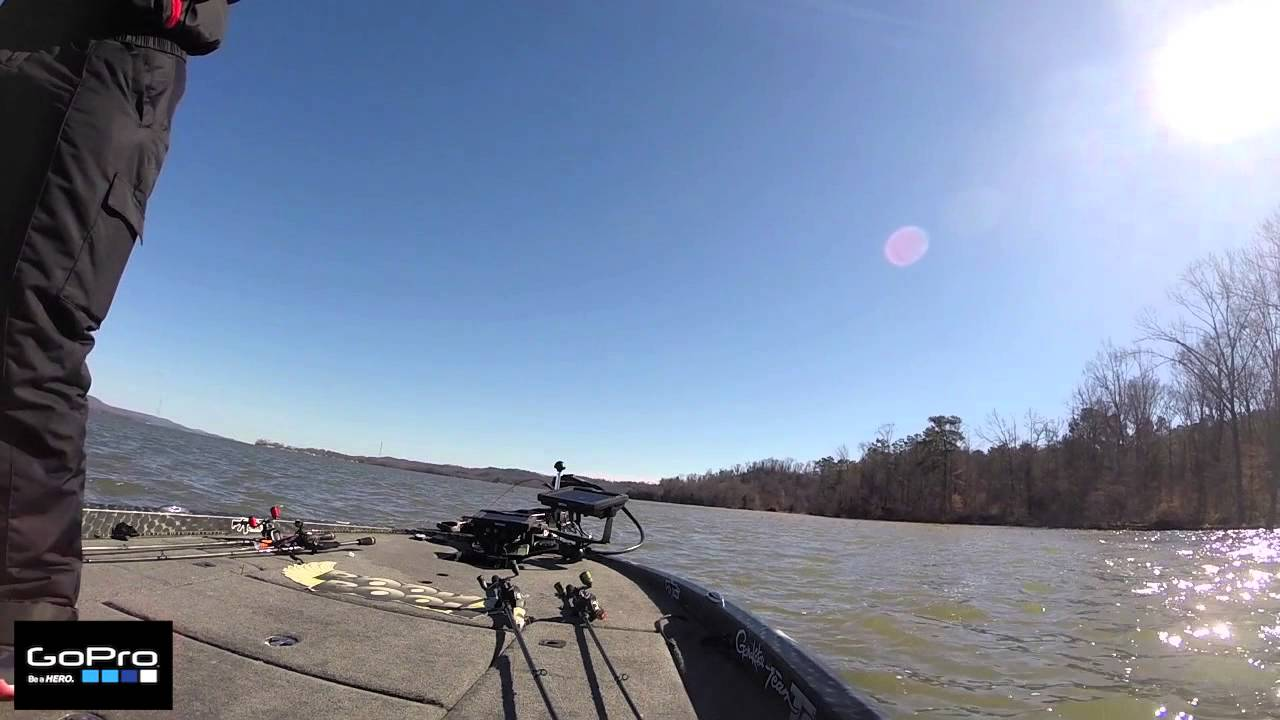 GoPro: Fred Roumbanis Catches a 5 and 9 pounder