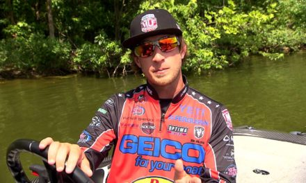 MajorLeagueFishing – 15 Minutes of Bass Speed Scouting with Fletcher Shryock