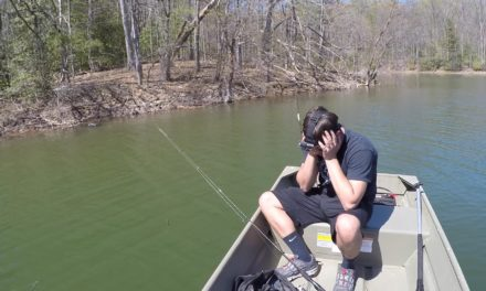 Bass Fishing with a Subscriber at Rocky Gorge Reservoir