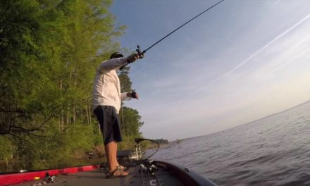 GoPro: Greg Hackney battles white bass on Toledo Bend
