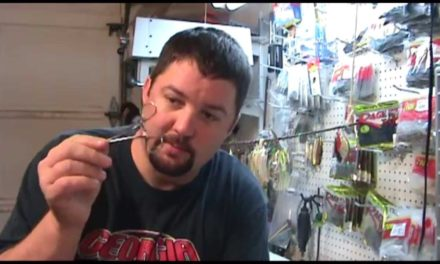 FlukeMaster – How to replace the tip on a fishing rod