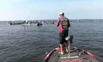 KVD reels in a monster 9+ pound bass – day 3 Toledo Bend