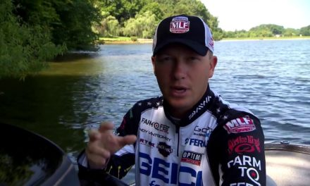 MajorLeagueFishing – Major League Lesson: Andy Montgomery on his Lowrance set up