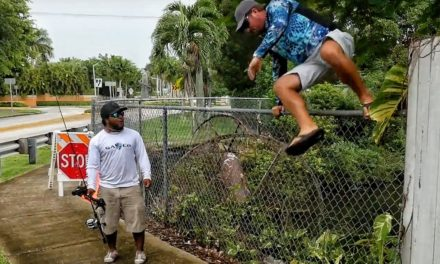 Scott Martin – No Fishing Zone! Jumping Fences and Getting Chased by BEES in Miami