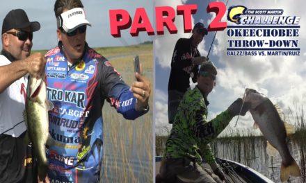 Scott Martin Challenge – SMC – 12:11 – Mikey Balzz vs. Scott Martin – Okeechobee Bass Fishing Challenge PART 2