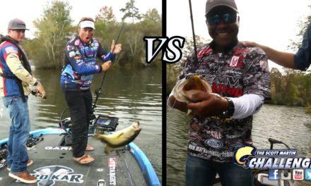 Scott Martin Challenge – SMC Episode 12:07 – Trash Talking & Bass Catching EPIC SHOWDOWN – AwesomeFishing Show!