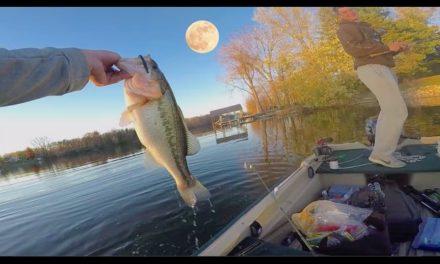 SUPER MOON Finesse Fishing!