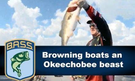 Bassmaster – Stephen Browning boats an Okeechobee beast