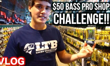 Flair – $50 BASS PRO SHOPS CHALLENGE!!! – Bass Fishing on a Budget Ep. 1