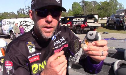 Aaron Martens Discusses Trailer Hooks on Spinnerbaits