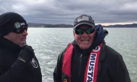 Bassmaster – Does snow help fishing?