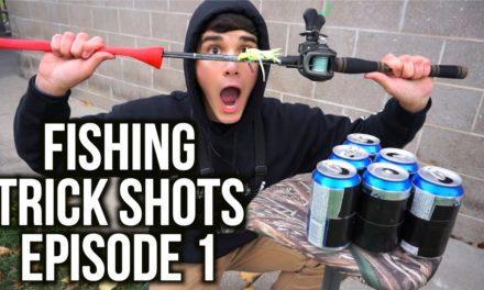 Flair – FISHING TRICK SHOTS EPISODE 1!!!!!