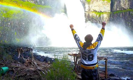 Uncut Angling – Manitoba – Fishing the Largest Waterfall in Washington – PALOUSE FALLS