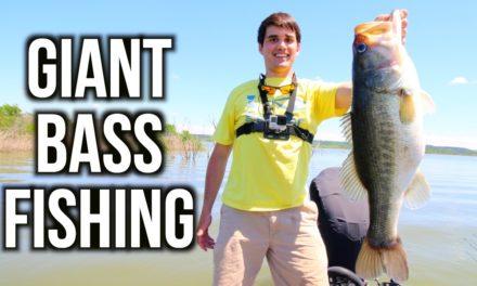 Flair – GIANT Bass Fishing in Texas – VLOG ft. Jon B. & LunkersTV