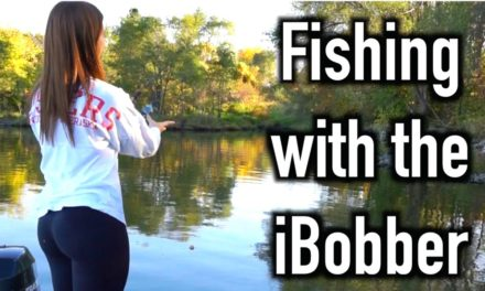 Flair – Girlfriend Fishing with the iBobber ReelSonar Fish Finder
