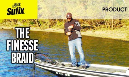 Best fishing line for lighter, smaller lures- Sufix® Nanobraid®