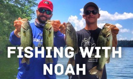 FlukeMaster – A Fun Day of Bass Fishing on Chickamauga with KickinTheirBASSTV