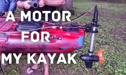 FlukeMaster – A Motor on My Kayak?!?! – Kayak Setup