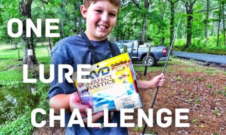 FlukeMaster – Bank Fishing Challenge – He Only Gave Me One Lure
