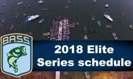 Bassmaster – 2018 Elite Series schedule
