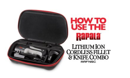 Rapala® Lithium Ion Cordless Fillet Knife Combo