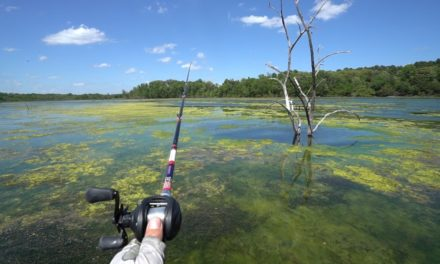 Lunkers TV – Fishing the NASTY Green Slime!!