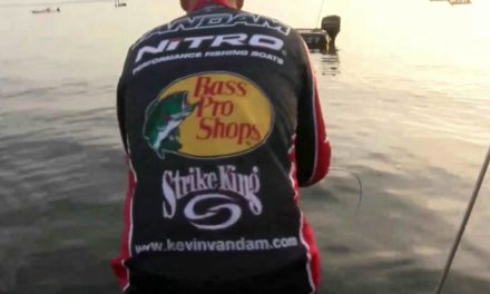 KVD's first catch – day 3 on Toledo Bend