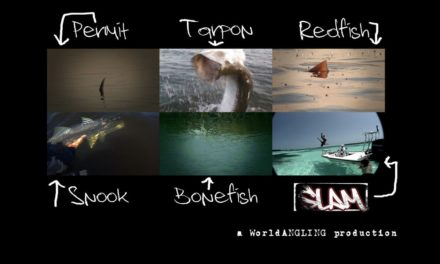 Slam by WorldANGLING fly fishing South Florida for Permit, Bonefish, Tarpon, Snook, and Redfish
