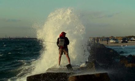 Dan Decible – Surf Fly Fishing 2010 – NYC Edition