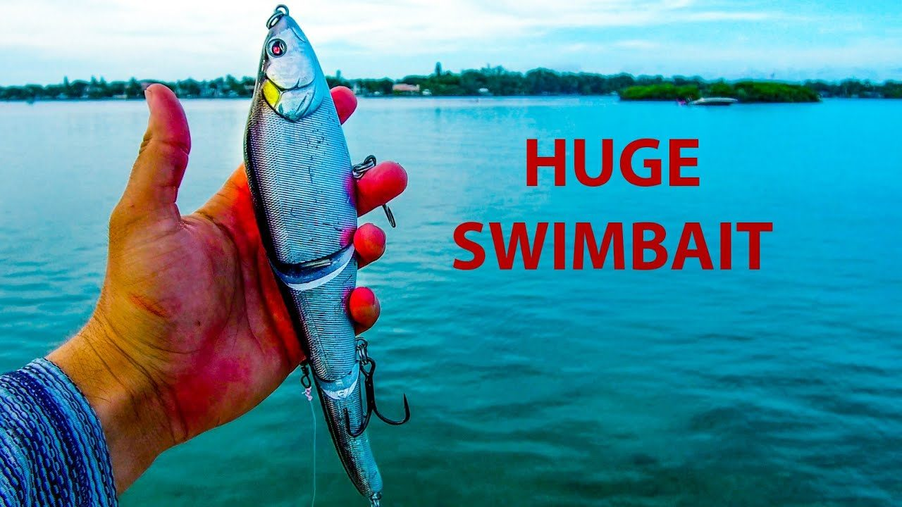 Lawson Lindsey - Using HUGE Swimbaits in Saltwater for BIG