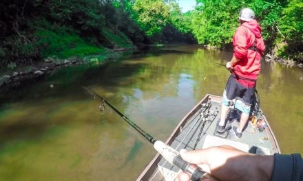 Lawson Lindsey – Fishing a Tiny Secret Creek by Boat