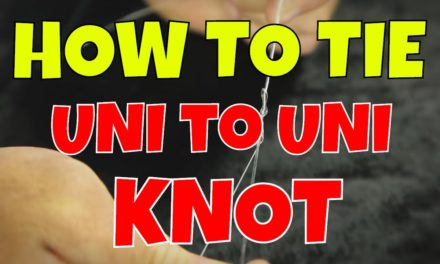 How To Tie a Uni To Uni Knot | Braid to Fluorocarbon Knot