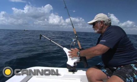 How to Use a Cannon Downrigger in a Small Bay Boat