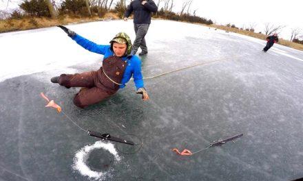 Flair – I AM NEVER ICE FISHING AGAIN!!!