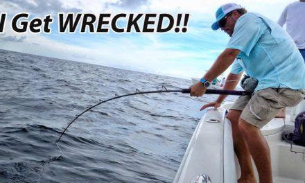 Scott Martin VLOG – I Get DESTROYED By a Monster Shark! 4K HD – PT2
