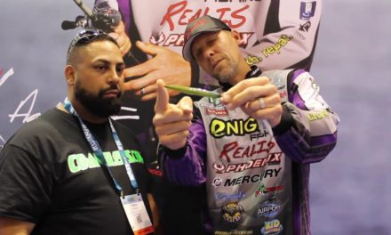 ICAST 2017 Co-Anglers.com talked with Aaron Martens about Realis baits