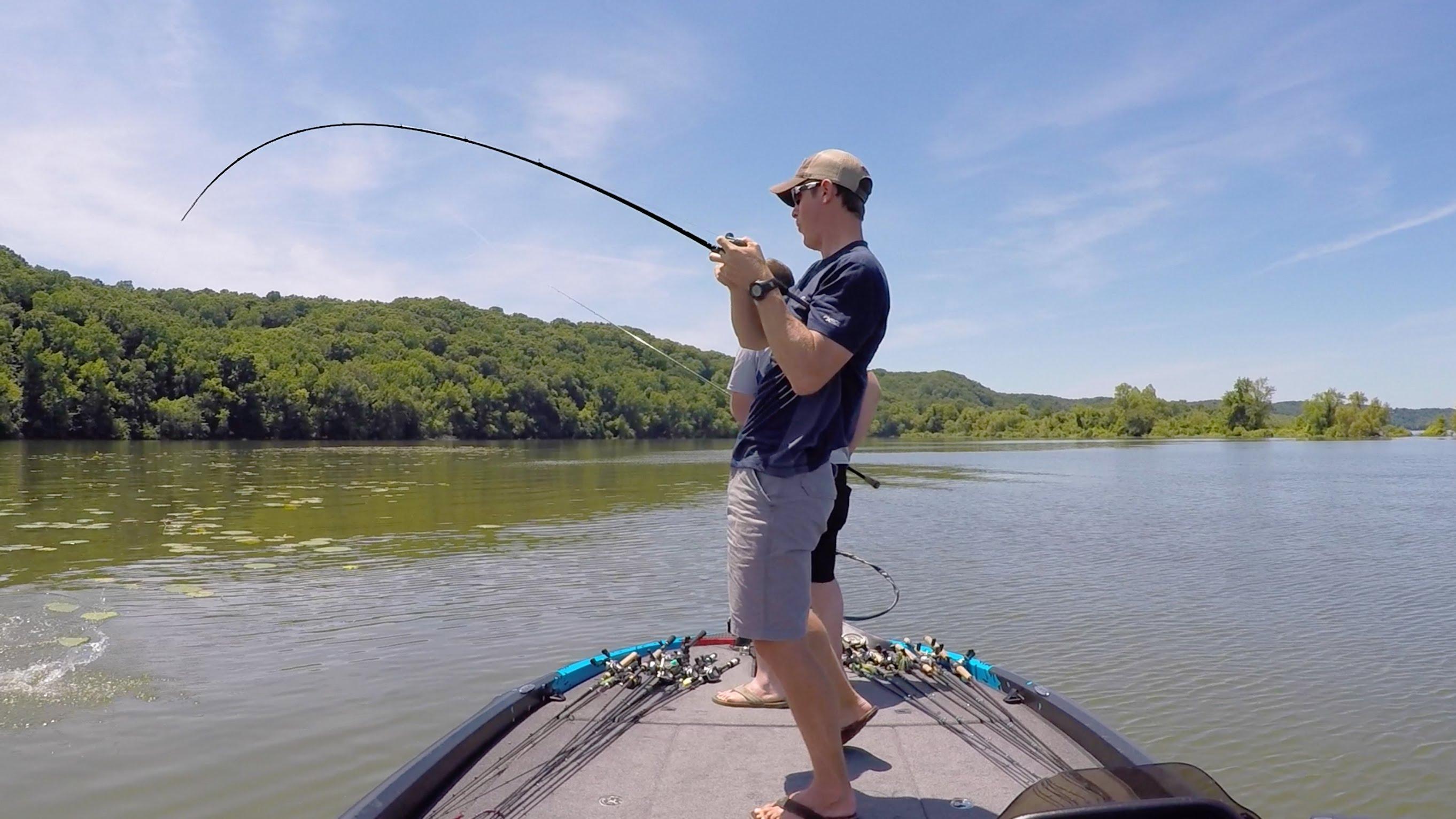 Lakeforkguy kentucky lake bass fishing day 2 angler hq for Kentucky lake fishing