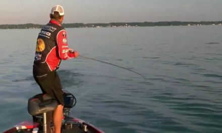 Kevin VanDam – Championship Sunday Cayuga Lake – early catch
