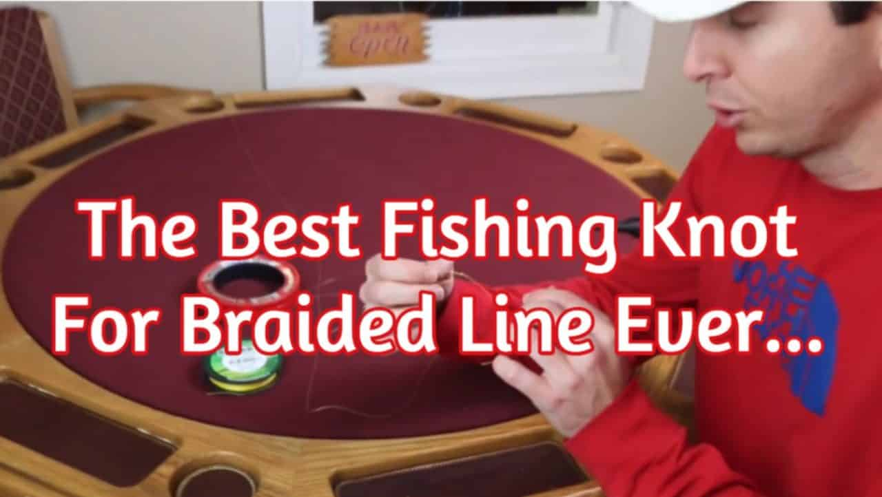 Quickest Way To Tie The Fg Knot The Strongest Braid To Leader Fishing Knot Angler Hq