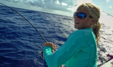 Scott Martin VLOG – These Girls Can Fish – Super Colorful Fish and a Mystery Fish