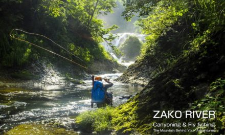Dan Decible – ZAKO RIVER – canyoning & fly fishing (English subtitles)