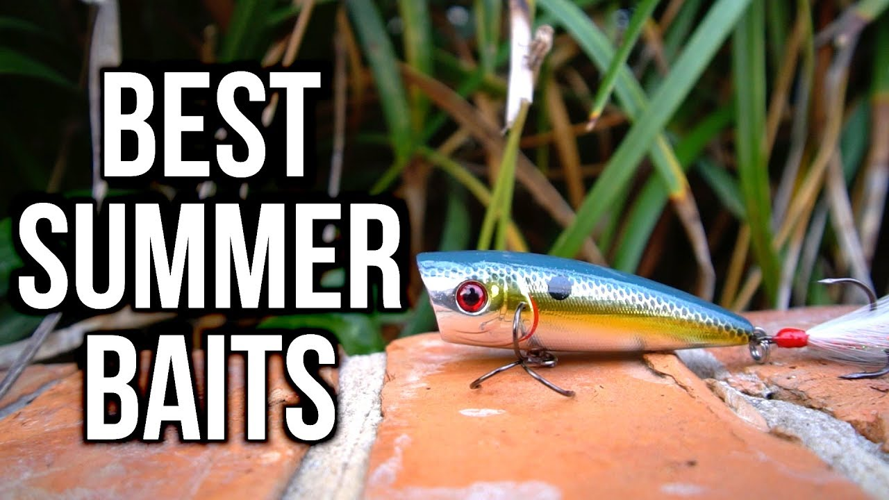 Best summer bass fishing lures 2017 angler hq for Best lures for summer bass fishing