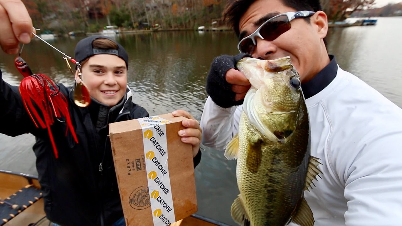 Bass Fishing Challenge Versus A Yung Sub Shad Chasers Vs Fall Prep Mtbs Catch Co Boxes Angler Hq
