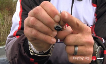 Shaky Head fishing for bass with the VMC® Rugby Jig