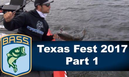 Bassmaster – Bassmaster Elite: Texas Fest 2017 Part 1