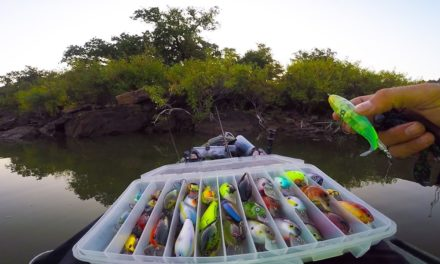 Lunkers TV – I took him to my SECRET Fishing Spot….
