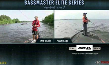 KVD fishing live – day 4 Toledo Bend – part 2
