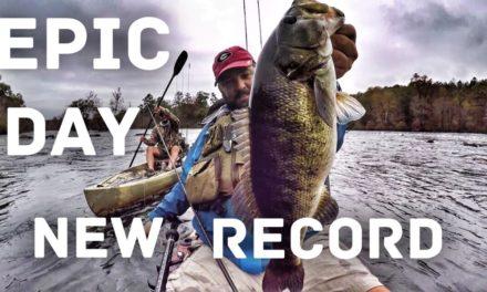 FlukeMaster – Big Bass Fishing Challenge – Records Broken – 4 Trophy Fish  – Ft. Andy's Fishing