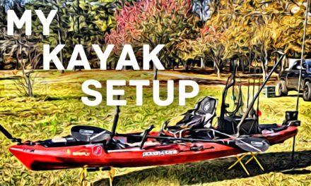 FlukeMaster – Kayak Setup – Jackson Mayfly – My Inshore Redfish Fishing Rig
