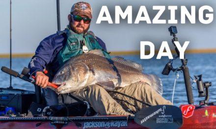 FlukeMaster – MTB Fishing Challenge – I Got Beat But I Still Won – Ft Robert Field